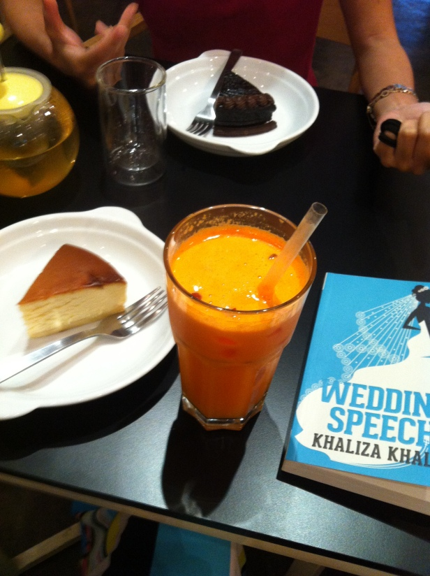 Meeting with Khaliza Khalid author of the Wedding Speech
